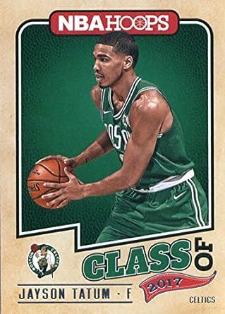 18ec162cd 2017-18 Panini Hoops Class of 2017  3 Jayson Tatum Boston Celtics  Basketball Card