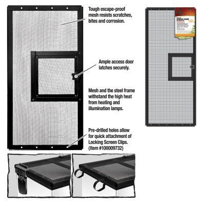 ENERGY SAVERS UNLIMITED,INC. SCREEN COVER METAL DOOR 30X12 by LSP