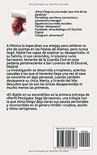 El Diablo en su Escondrijo: Perfil Psicópata: Saga Sarraceno I: Amazon.es: Alma Diego: Libros