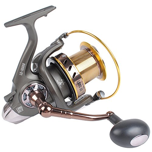 Dr.Fish Saltwater 10000 12000 Spinning Reel Surf Fishing Heavy Duty Long Casting Ultra High Capacity Offshore 13 1 BB