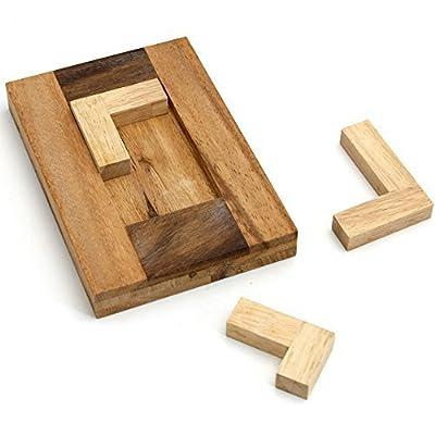 BRAIN GAMES 3L Wooden Brainteaser Puzzle