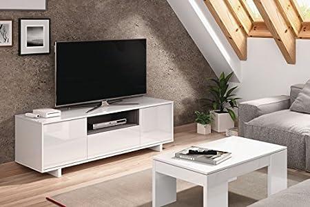 HABITMOBEL Mueble TV,Mod Charles, Dimensiones 150 cm x 47cm x 41 cm de Fondo: Amazon.es: Hogar