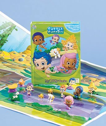 Bubble Guppies Licensed Book & Figure Set