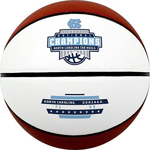 Baden North Carolina Tar Heels 2017 NCAA National Champions Souvenir Official Size Basketball