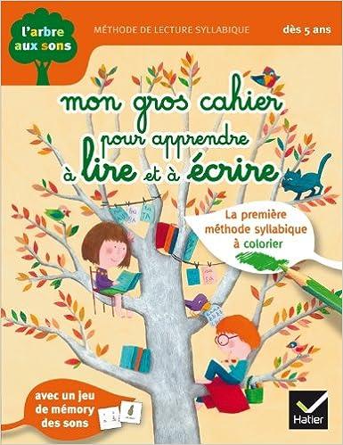 Favori Amazon.fr - L'arbre aux sons - Mon gros cahier pour apprendre à  WB81