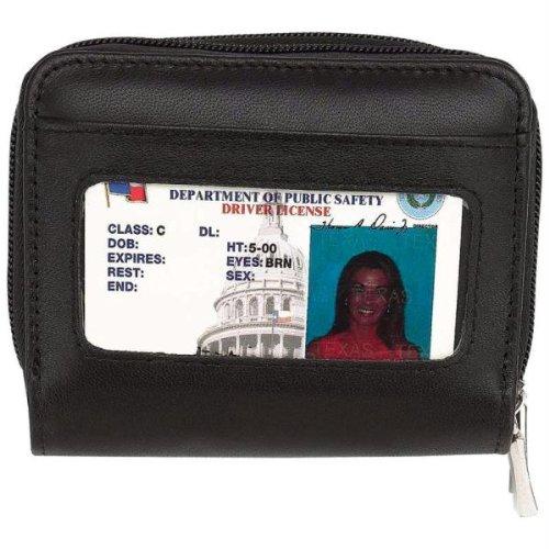 Embassy Genuine Lambskin Leather Accordion Wallet