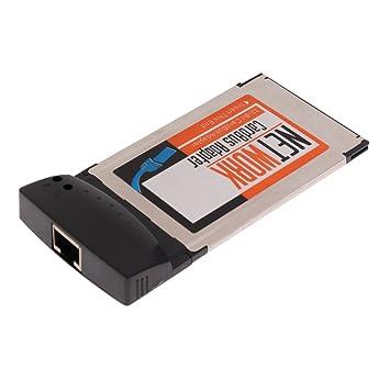 MagiDeal Tarjeta de LAN PCMCIA RJ-45 RJ45 Adaptador ...
