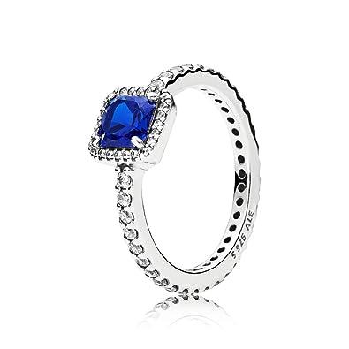 4990a8e1c Pandora Women Silver Solitaire - 190947NBT-58: Amazon.co.uk: Jewellery