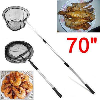 Generic OLDING de pesca CRO telesc/ópica de malla plegable sacadera 177,8 cm extensible OLDING LIGH telesc/ópica de pesca