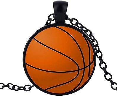 Générique Collar Colgante Estampado balón de Basket Basketball ...