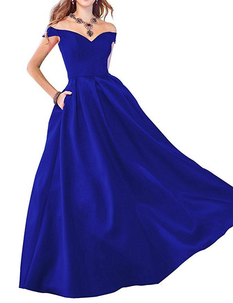 PROMLINK - Vestido largo plisado de noche para mujer: Amazon.com.mx ...