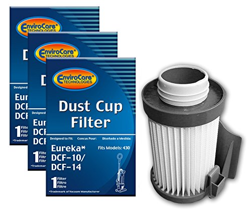 Used, Eureka DCF-10/DCF-14 Vacuum Cleaner Upright Dust Cup for sale  Delivered anywhere in USA
