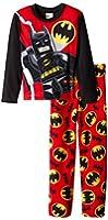 Batman Lego Big Boys' Block Hero 2-Piece Pajama Set