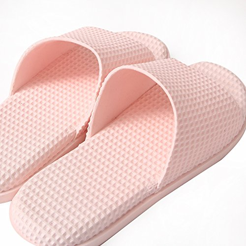 Sandals Toe Shower Bathroom Open Pink Shoes Slides for Shower Men Slipper Home Slippers Women Bath Indoor p7qURHpw