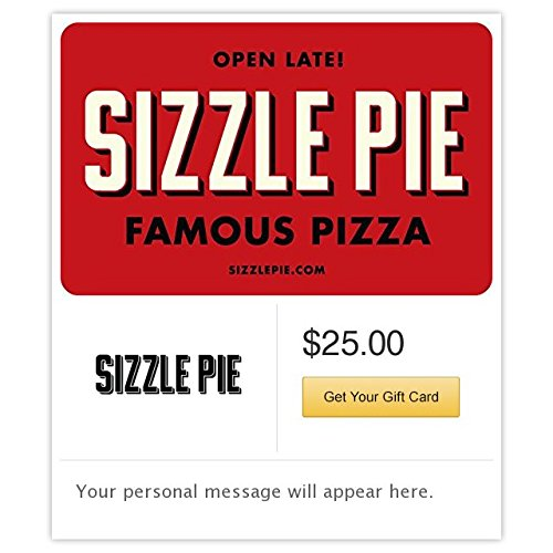 Sizzle Pie Gift Cards - E-mail Delivery (Gift Delivery Portland)