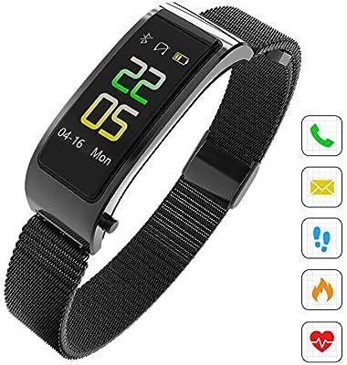 KXHWSH 2 en 1 Smartwatch Auriculares Bluetooth Fitness Tracker ...