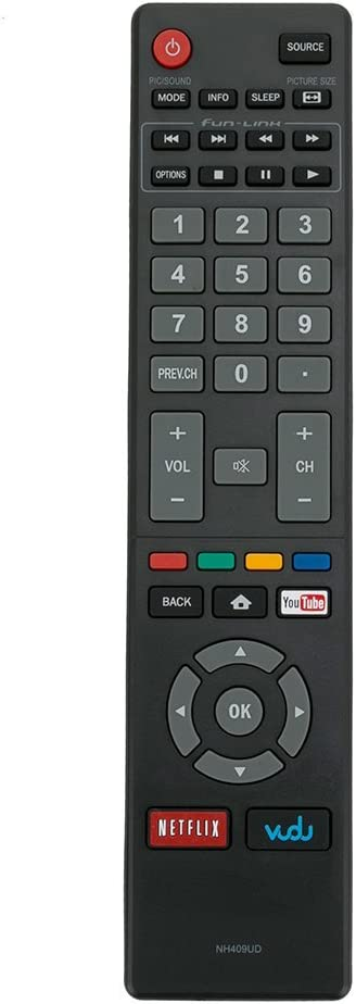 NH409UD Remote Control Applicable for Magnavox TV 32MV304/F7 55MV314X 50MV314X/F7 40MV336X 32MV304X 50MV314X 43MV314X 40MV324X