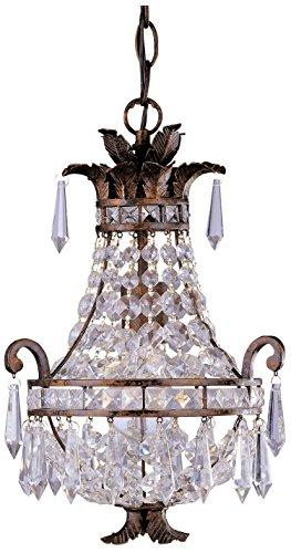 Savoy House 1-1046-1-56 Mini 1 - Light Chandelier, New Tortoise Shell