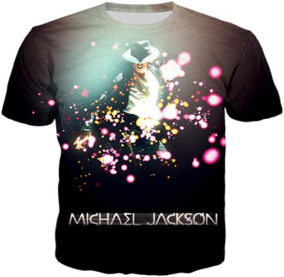 JJZHY Camiseta con Estampado de algod/ón Negro Eminem de The King of Hip Hop Amantes del Hip Hop