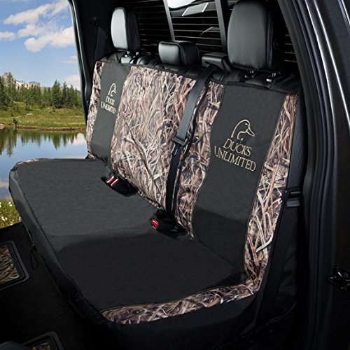Shadow Grass Blades Ducks Unlimited Camo Full Bench Seat Cover