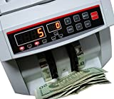 BlueDot Trading Currency Bill Cash Banknote Bank Money Count Counter Detects Counterfeit Bills Notes