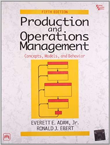 buy production and operations management concepts models and  buy production and operations management concepts models and behavior book online at low prices in production and operations management concepts