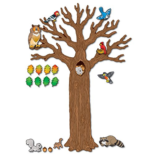Carson-Dellosa CD-110078 Big Tree with Animals Bulletin Board Set (Pack of (120 Count Cd)