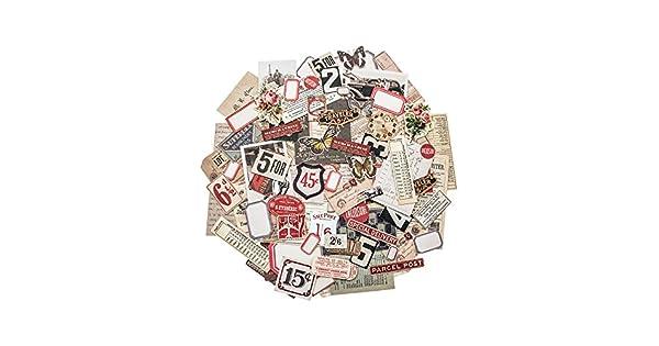 Ephemera Pack-fragmentos por Tim Holtz Idea-Ology 111 piezas varios tamaños