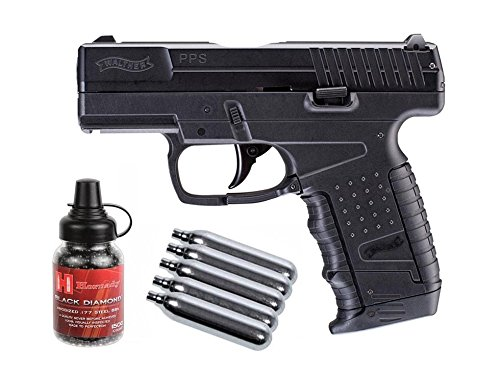 Walther PPS CO2 Blowback Pistol Kit air pistol