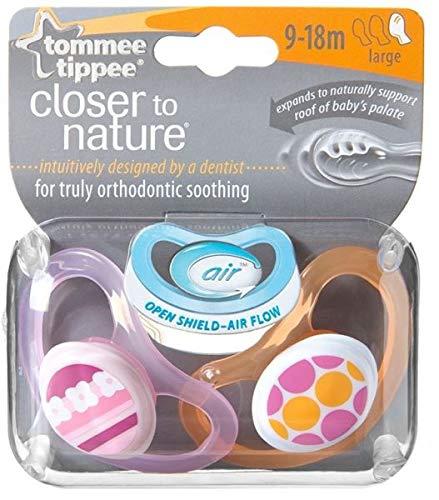 Tommee Tippee 2443321290 - Chupetes para bebés entre 0 y 3 mese (pack de 2)