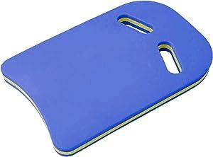 Outroad Swimming Training Aid Kickboard - U Design Swim Pool Float Floating Buoy Hand Board Tool Foam Equipment, Yellow/Blue