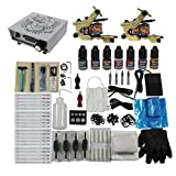 Tattoo Starter Kits Set 2pc Tattoo Machine Gun for Tattoo Supply from Redscorpion
