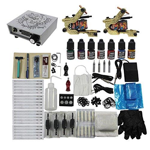 Tattoo Starter Kits Set 2pc Tattoo Machine Gun for Tattoo Supply from Redscorpion by redScorpion