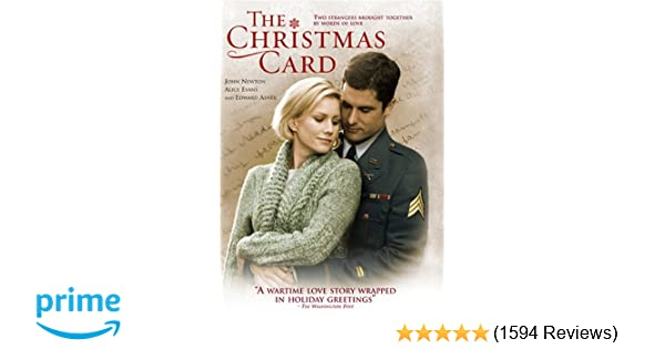 amazoncom the christmas card hallmark edward asner brian robinson xv john newton ii alice evans lois nettleton peter jason charlie holliday - Finding John Christmas Cast
