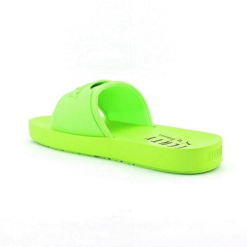 180cb05a0b49 Puma X Fenty Surf Slide WNS by Rihanna 367747 04 Badelatschen  Amazon.de   Schuhe   Handtaschen