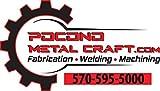 Pocono Metal Craft Driver and Passenger Center Skid Frame Repair for Jeep Wrangler TJs 1997-2002