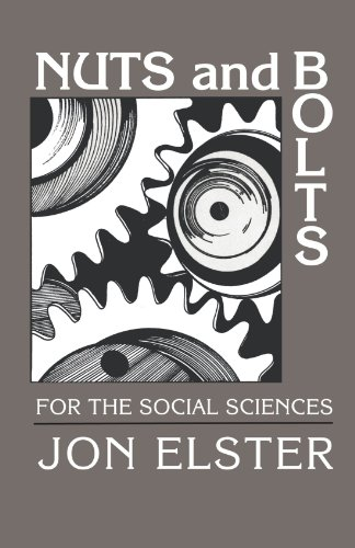 (Nuts and Bolts for the Social Sciences)