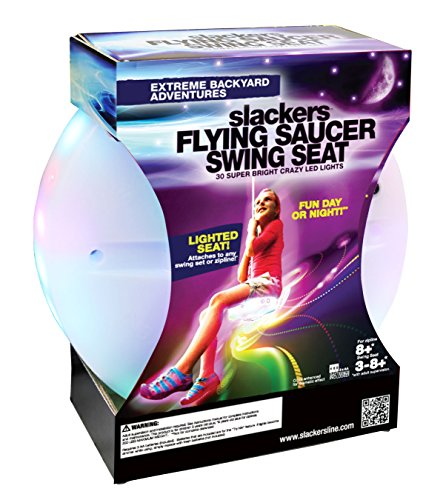 Slackers Flying Saucer Seat with 30 LED Lights by Slackers