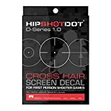 HipShotDot D-Series Pro Pack - Reusable Transparent