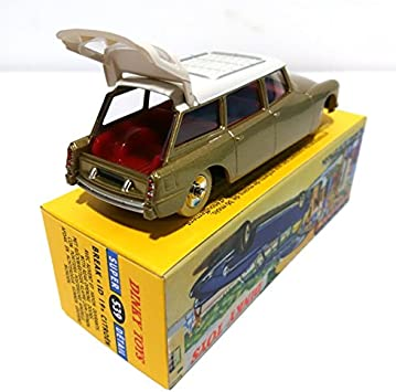 Atlas Citroen ID 19 Break - Gold Color and White Roof Dinky Toys (Ref 539)