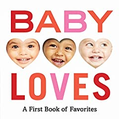 An interactive photographic board book all about the things babies love most!   This bold, playful board book introduces a variety of familiar objects for babies to identify, including a banana, a sippy cup, a ball, and a puppy! Each i...