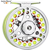 AnglerDream 1 2WT Fly Reel with Line Combo...