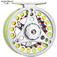 AnglerDream 1 2 3 4 5 6 7 8WT Fly Reel with Line Combo...