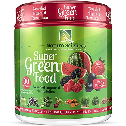 100% Natural Greens Powder