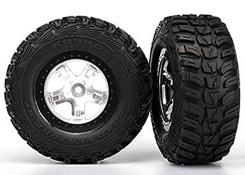 montées pegados ruedas Kumho para 4x4 delantero / trasero - trasera 4x2 (2) - TRAXXAS - TRX5880X: Amazon.es: Juguetes y juegos