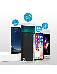 Batería Pack Power Bank Metecsmart Cargador de teléfono móvil portátil compatible con iPhone Samsung Android