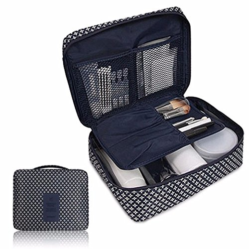 Price comparison product image Clearance Storage bins, AIEason Pockettrip Clear Cosmetic Makeup Bag Toiletry Travel Kit Organizer BU