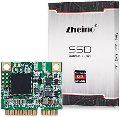 Zheino Half Size mSATA 32gb SSD Tamaño medio mSATA SSD Half Msata ...