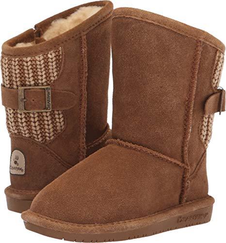 (BEARPAW Boshie Toddler Boot Hickory II Size 10 M US Toddler)