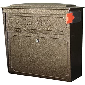 Mail Boss 7162 Metro Locking Wall Mount Mailbox Security